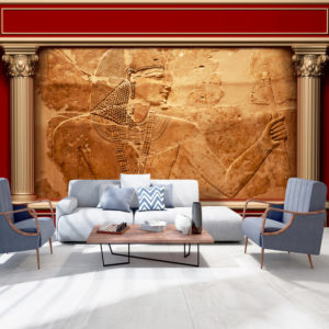Wallpaper - Egyptian Walls original mural from walldesigners