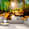 Adhesive wallpaper - Marvelous Forest