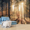 Adhesive wallpaper - Autumnal Forest