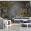 Adhesive wallpaper - Gold orient