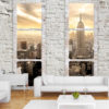 Adhesive wallpaper - New York: view from the window