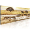 Canvas Print : Africa: at the waterhole HQ prints