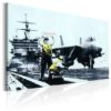 Canvas Print : Applause by Banksy HQ prints