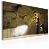 Canvas Print : Cave Painting by Banksy HQ prints