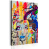 Canvas Print : Colourful Thoughts HQ prints