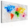 Canvas Print : Expressionism of the World HQ prints