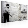 Canvas Print : Graffiti Area (Police and a Dog) by Banksy HQ prints