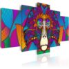 Canvas Print : Hypnosis of Colours HQ prints