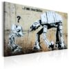Canvas Print : I Am Your Father by Banksy HQ prints