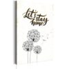 Canvas Print : My Home: Let's stay home HQ prints