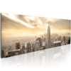 Canvas Print : New York City among the clouds HQ prints