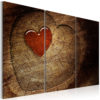 Canvas Print : Old love does not rust - 3 pieces HQ prints