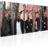 Canvas Print : People in Masks HQ prints