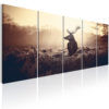 Canvas Print : Stag in the Wilderness HQ prints
