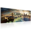 Canvas Print : The East River at night HQ prints