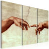 Canvas Print : Touch of God HQ prints