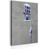 Canvas Print : Well Hung Lover by Banksy HQ prints