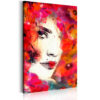 Canvas Print : Woman in Poppies HQ prints