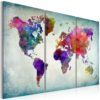 Canvas Print : World in Colors HQ prints
